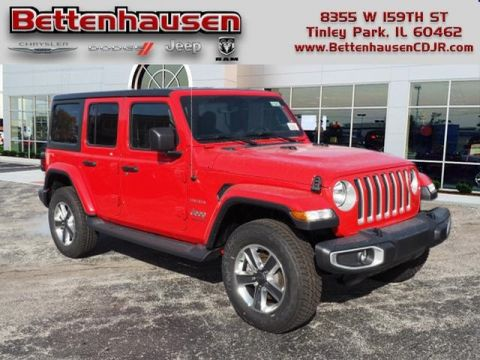 New 2020 JEEP Wrangler Unlimited Sahara With Navigation