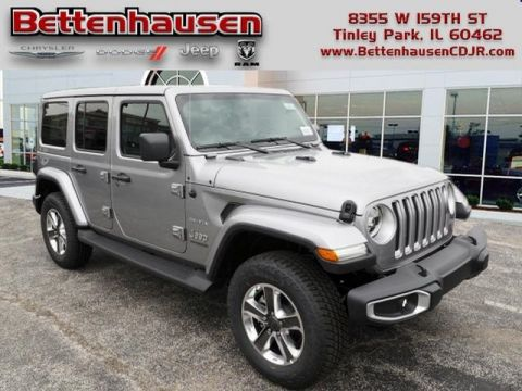 New 2020 JEEP Wrangler Unlimited Sahara 4x4 Sport Utility