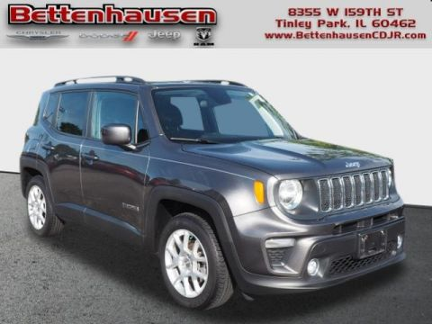 Certified Pre-Owned 2019 Jeep Renegade Latitude FWD 4D Sport Utility